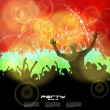 Music event background. Vector eps10 illustration. — Stock Vector #16799775