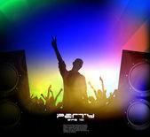 Music event illustration — Stock Vector