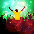 Music party illustration — Stock Photo #17008535
