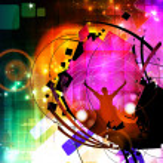 Music party illustration — Stock Photo #17471485