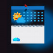 Cloud Computing weather icons — Stock Vector #18087731