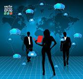 Zespół biznes — Wektor stockowy