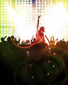 Ilustración de fiesta de la música — Foto de Stock