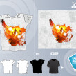 Party T-Shirt template vector design — 图库矢量图片