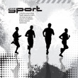 Sport vector illustration — Vettoriali Stock