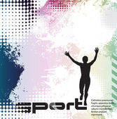 Sport vector illustration — Stock Vector