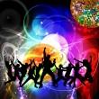 soirée disco — Photo