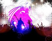 Dancing . illustration — Stock Photo