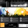 Web-Design-Vorlage — Stockvektor  #22587175