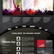 Web design template — 图库矢量图片 #22587637