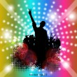 Dance party — Stock Vector #22594429