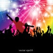 Royalty-Free Stock Vector Image: Dance party