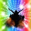 Disco-Party — Stockfoto