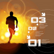 Editable vector illustration of sport - 