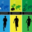Editable vector illustration of sport - Imagen vectorial
