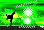 мастер боевых искусств — Стоковое фото