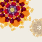 Floral item background — Stock Photo