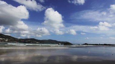 Deniz ve gökyüzü — Stok video