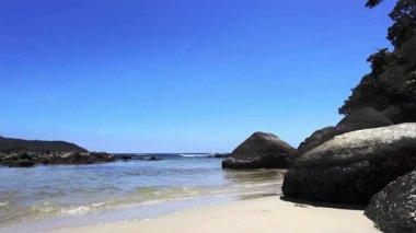 Shoreline in phuket — Stock Video