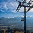 Chair-lift in Tatra Mountains — Stock Photo #31644935