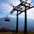 Chair-lift in Tatra Mountains — Stock Photo #31649559