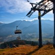 Chair-lift in TatrMountains — Stock Photo #31649935