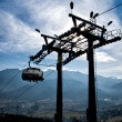 Chair-lift in Tatra Mountains — Stock Photo #31650923