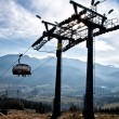 Chair-lift in TatrMountains — Stock Photo #31659773