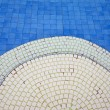 The bottom of the pool - texture — Zdjęcie stockowe
