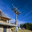 Chair-lift in Tatra Mountains — 图库照片