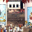 People gather for a religious ceremony at Uttar Pradesh — Stock Photo #31766229
