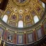 Dome of the Saint Stephen Basilica — Stock Photo