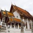 Thailand, Bangkok.The temple. — Stock Photo