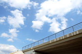 Side view of urban highway viaducts — Stock Photo