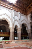 Inside of the Hassan II Mosque in Casablanca — Stock Photo