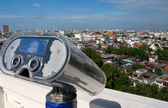 Large coin operated binocular — Stock Photo