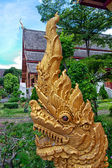 Buddhist temple - dragon — Stock Photo