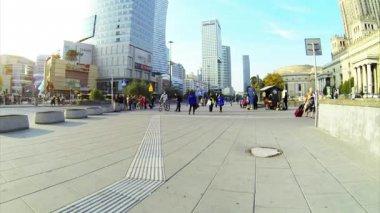 城市人行道 — 图库视频影像