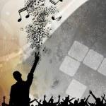 Festival poster — Stock Photo