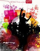 Concert music poster — Stock Vector