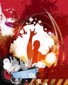 Festival. ilustración de la música — Foto de Stock