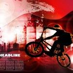 Постер, плакат: Cyclist