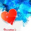Heart valentines day background. — Stock Vector #39374123
