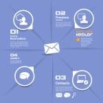 Social media concept. Vector — Stock Vector #39374401