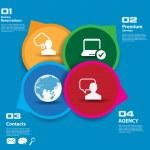 Social media concept. — Stock Vector #39375155