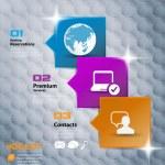 Social media concept — Stock Vector #39375159