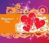 St. Valentine's Day Wallpaper. — Stock Vector