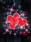 Happy Valentines Day concept — Stock Vector