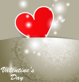 Happy Valentines Day concept. — Stock Vector