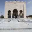 Stock Photo: Mausoleum of Mohammed V
